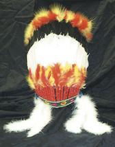 Grand Chef Indien D'Amérique Costume Guerrier Indien Coiffe Plume War Bo... - $37.96 CAD