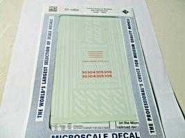 Microscale Decals Stock # 87-1063 Toledo Peoria & Western SW1500 Diesels   HO image 3