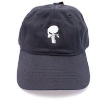 Marvel Punisher Skull Baseball Cap Embroidered Adjustable Hat - $15.63