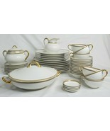 Haviland Limoges France Vintage 46 piece table set VHTF - $4,715.99