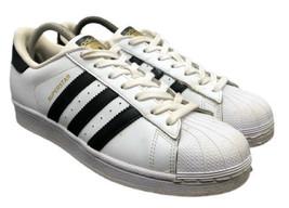 Adidas Originals Superstar Shelltoe Shoes C77153 White Womens 9 Fast Shipping - $48.99