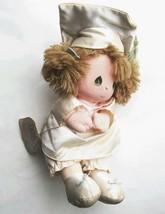 Precious Moments 1985 School Graduation GWEN Doll Wind-Up Musical Plays ... - $11.57