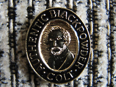 pin, authentic Black Powder Colt promo advertising lapel pin