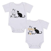 2017 Pudcoco Fashion Cotton Newborn Infant Baby Boys Girl Brand New Bodysuit Sho - $9.39
