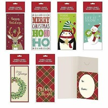 B-THERE Bundle of Assorted Embellished Holiday Gift Cards, Money Holders... - $12.71
