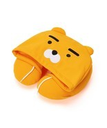 KAKAO FRIENDS Character Hoodie Neck Pillow RYAN Official Goods - $45.53