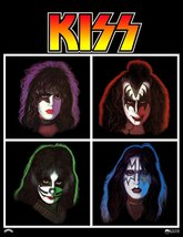 KISS Band 24 x 31 Japan Victor Solo Albums Reproduction Poster - Collect... - $45.00