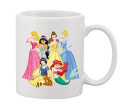 Disney Princess Mugs Cups Mugs & Funny Gift for Coffee Lovers Mug - $16.50