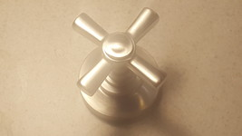 "Newport Brass ""Vintage"" Satin Nickel Cross-Style Shower Handle - $34.95"
