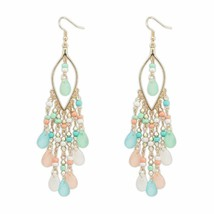 Fancy Party Ware Beads Alloy Dangle Earring for Women and Girl | FREE SHIP - $9.89