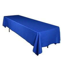 Royal - 90 x 156 Rectangle Polyester Tablecloths - ( 90 inch x 156 inch ) - $23.88
