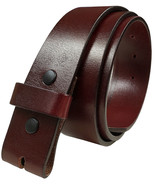 "BS055 Replacement Belt Strap Genuine Full Grain Leather Belt 1-1/2""(38mm... - $19.95"