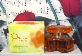 Oscar Fresh Vanilla EDT Spray 2.0 FL. OZ. By Oscar De La Renta - $99.99