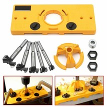 Concealed 15-35mm Cup Style Hinge Jig Boring Hole Drill Guide +Forstner ... - $15.90+