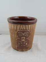 Vintage Doubel Face Tiki Bucket Mug - Harvey's Lake Tahoe - Ceramic Mug - $39.00