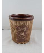 Vintage Doubel Face Tiki Bucket Mug - Harvey's Lake Tahoe - Ceramic Mug - $39.00