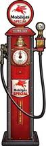 Mobilgas Pump Automotive Michael Fishel Plasma Cut Metal Sign - $49.95