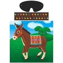 Pin The Tail On The Donkey Party Game | Game Collection | Party Accessory - $5.06