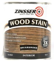 1 Can Zinsser 32 Oz Wood Stain 331499 Briarsmoke Interior Dries In 1 Hour - $21.99
