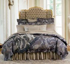Sferra Roseto F/Queen Duvet Cover & Shams 4 PC. Egyptian Cotton Sateen Italy New - $439.90