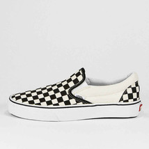 Vans Classic Slip On Blk&Wht Checkerboard Vn000eyeww Mens 9US/ Womens 10... - $39.19