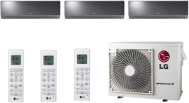 Lg - LMV24CHV Cooling/Heat Pump 20,000 Btu Outdoor, 2X LAN090HSV5 9,000 BTU,1x L - $7,430.63