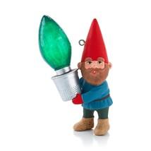 Gnome for Christmas 2013 Hallmark Ornament  Lights  Garden  Season Brigh... - $13.80