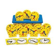 hand2mind Geared Clocks Classroom Kit Set of 24 - $57.36