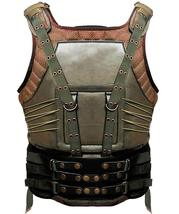 Mens Bane Vest Dark Knight Rises Tom Hardy Leather Costume image 2