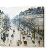 The Boulevard Montmartre on a Winter Morning 1897 Camille Pissarro - Rea... - $91.63+