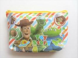 Disney Pixar TOY STORY Woody, Alien & Rex Candy Stripe Cosmetic / Makeup... - $8.55