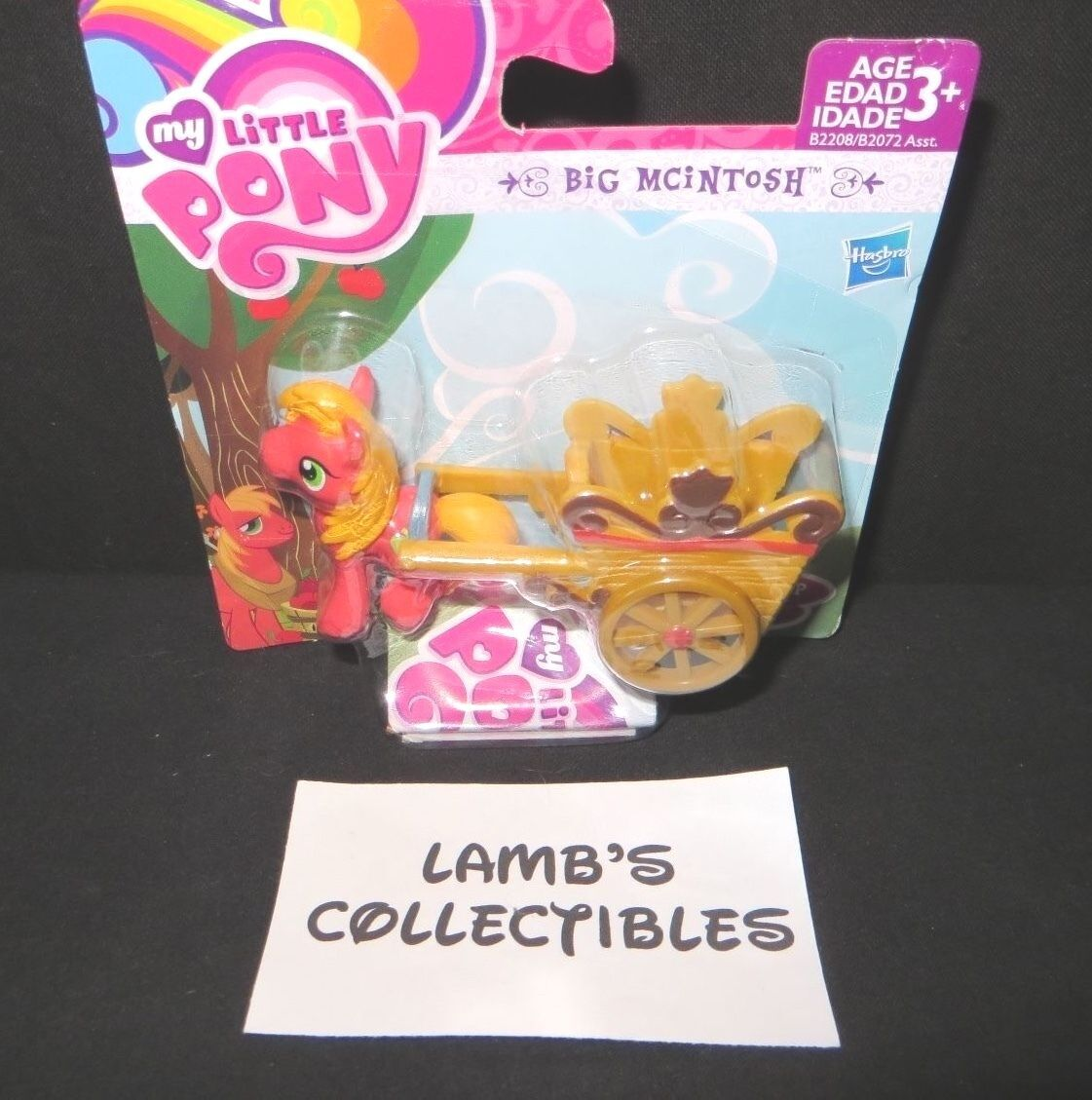 "Primary image for My Little Pony Friendship is Magic action figure pack Big McIntosh 2"" Hasbro Toy"
