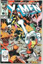 X-men #175 VF+ Double-sized 20th Ann issue  Marvel Comics 1983 Marriage Issue - £7.09 GBP