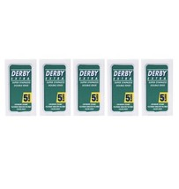 25 DERBY Razor Blades Extra Super Stainless Double Edge Sampler - $6.88