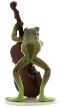 Hagen-Renaker Specialties Froggie Mountain Breakdown Bluegrass Frog Bass Player  image 3
