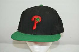 Philadelphia Phillies Black / Green Bill Baseball Cap Fitted 7 5/8 - €23,06 EUR