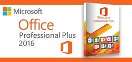 Microsoft Office 2016 PRO PLUS 32 & 64 BIT Activation KEY-3 PCS - $35.00