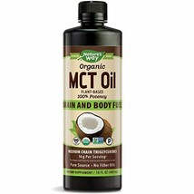 Nature's Way Organic MCT Oil From Coconut, Non-GMO, Gluten-free, 14 g MCTs per s - $24.50