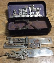 Lot of vintage white Greist /New Home rotary attachments sewing machine - $23.99