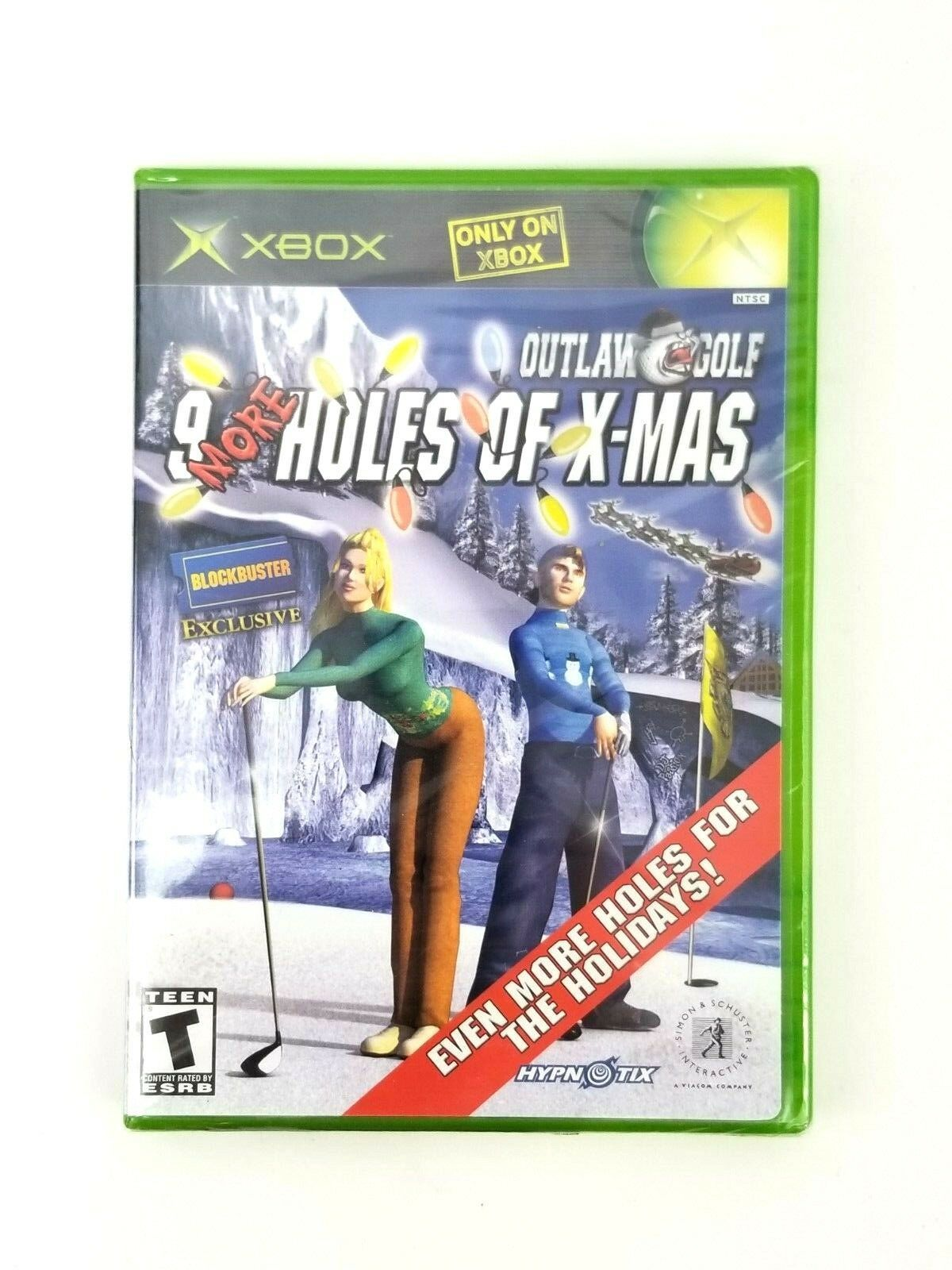 Xbox - Outlaw Golf: 9 More Holes of X-mas Video Game - Blockbuster Exclusive New