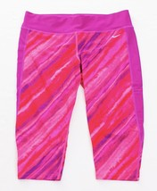 Nike Pink 3/4 Length Stretch Athletic Capri Tights Women's XL NWT - €49,66 EUR