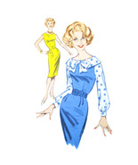1960s Vintage Butterick Sewing Pattern 9630 Misses Sheath Dress Jumper B... - $8.95