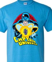 Captain Universe T Shirt retro Marvel Comics vintage 70s Micronauts heathered  image 2
