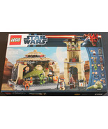 RETIRED COLLECTOR LEGO Star Wars Set 9516 Jabba's Palace NEW IN SEALED B... - $218.49