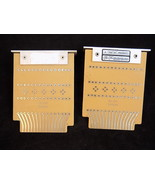 Set of 2 DIGIBIT BRS blank circuit boards BL 201 20203A with aluminum br... - $32.52