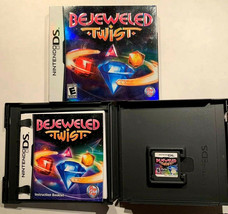 Bejeweled Twist (Nintendo DS, 2010) Pop Cap With Case/ Sleeve & Booklet - $9.89