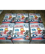 Funko: Mystery Minis - Marvel - Captain America: Civil War figures  - Lo... - $28.98