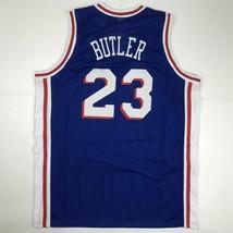New JIMMY BUTLER Philadelphia Blue Custom Stitched Basketball Jersey Men... - $49.99
