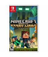 Nintendo Switch MINECRAFT 2018 STORY MODE SEASON 2 Two New & Sealed E-10+ - $32.99