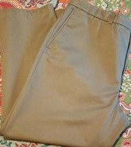 Haggar Brand ~ Men's 42 x 30 ~ Khaki (Beige) in Color ~ Cotton Pants - $23.76